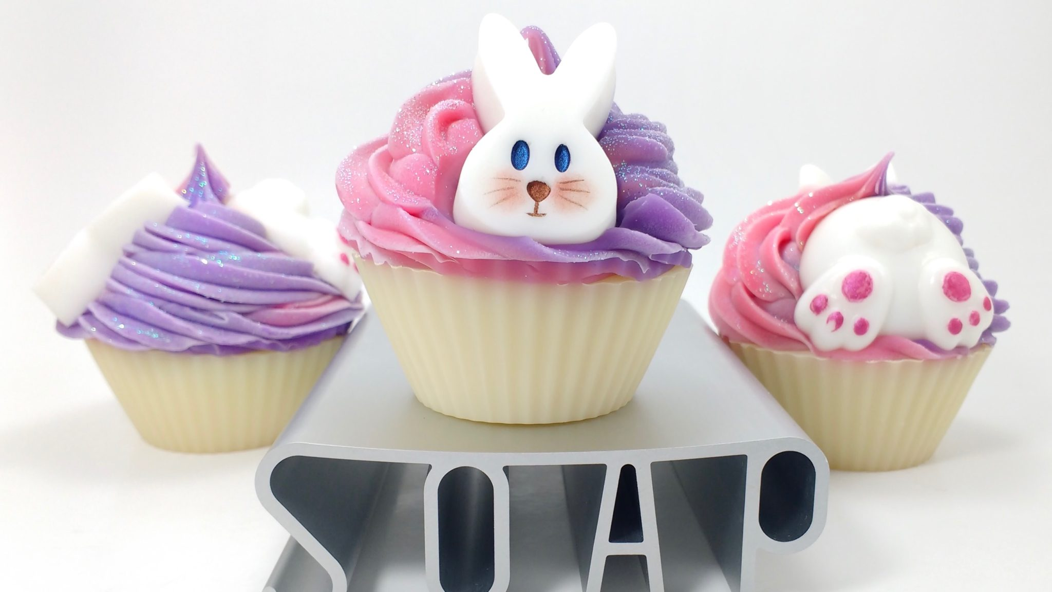Rabbit Soap Cupcake - Soap Authority