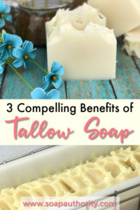 3 Compelling Resons For Using Tallow in Soap Making- Jaimie Listens: There are some very good reasons for using tallow soap that may surprise you! Here are my top three!