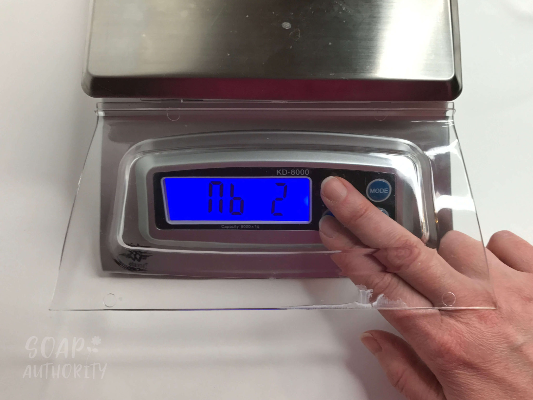 Preventing Your Soap Scale From Shutting OFF Automatically - Soap Authority: Preventing your soap scale from shutting off automatically will save you lots of time, frustration and even money! Follow my easy instructions to set up your scale properly.