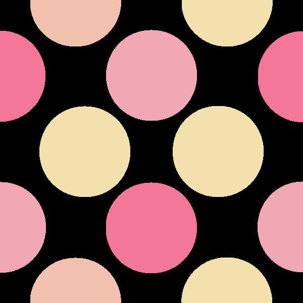 Dots Peachy Pink